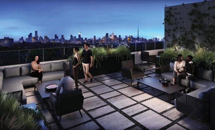 Monza Condos Rooftop
