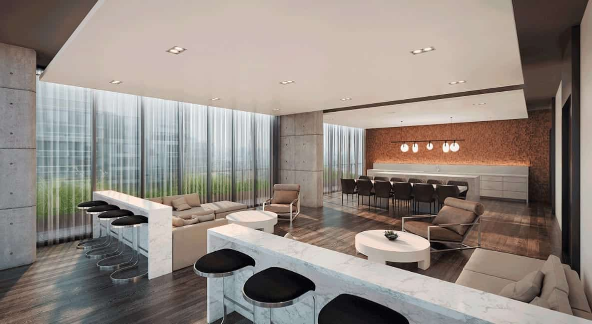 Sixty Five Broadway Condos Lounge