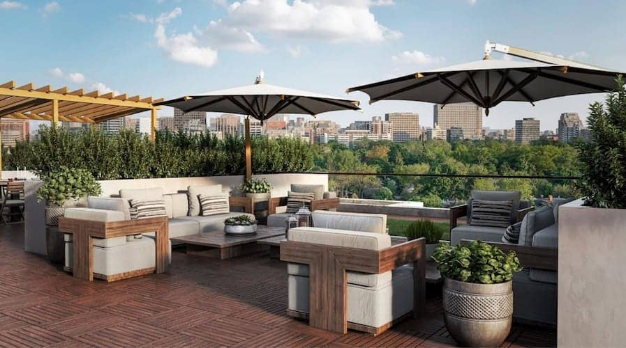 Nahid on Broadview Condos Rooftop