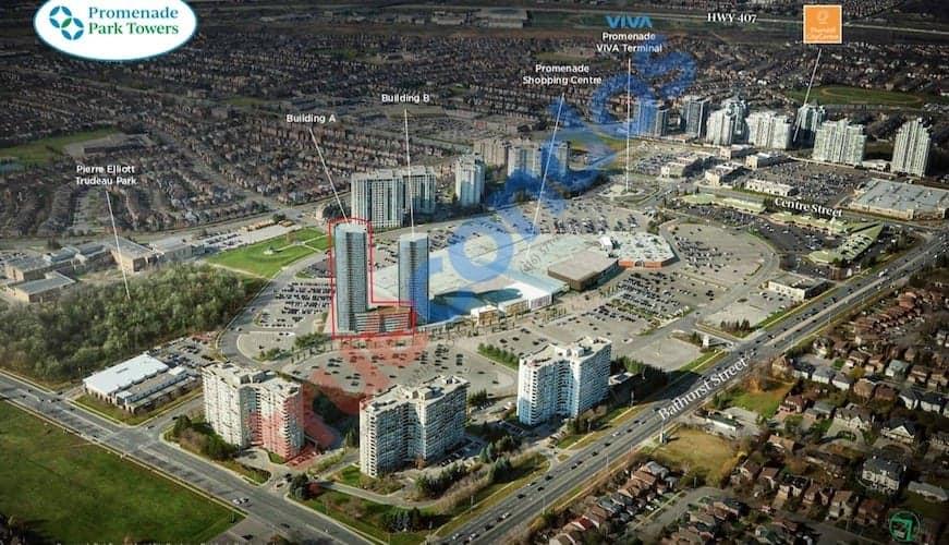 Promenade Park Towers Location